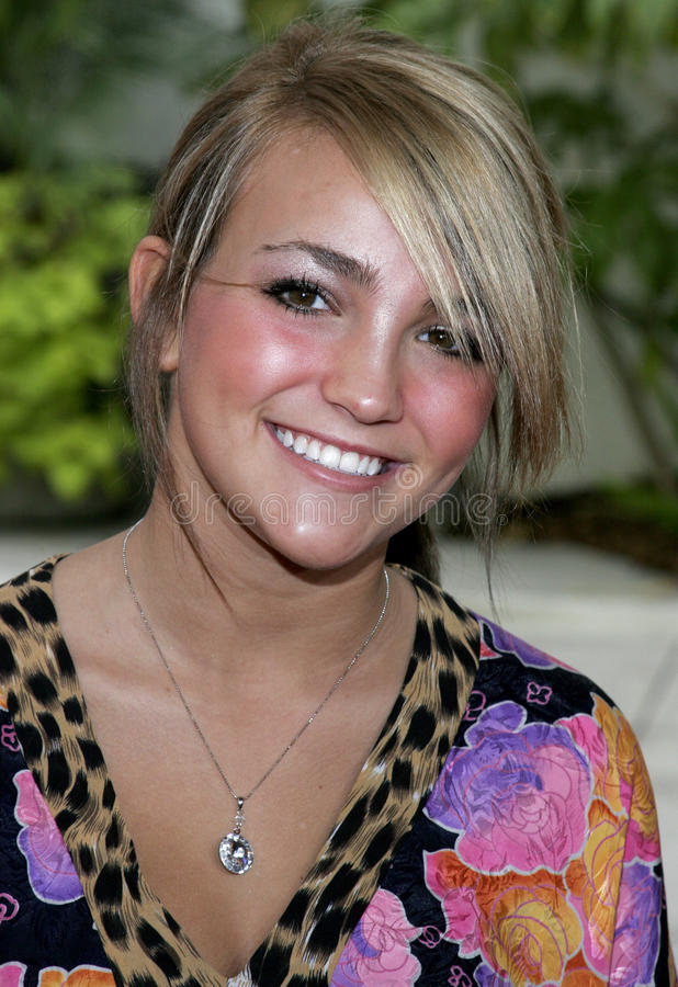 Jamie Lynn Spears stock photo