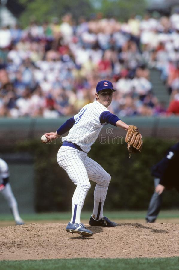 Jamie Moyer Chicago Cubs imagens de stock royalty free