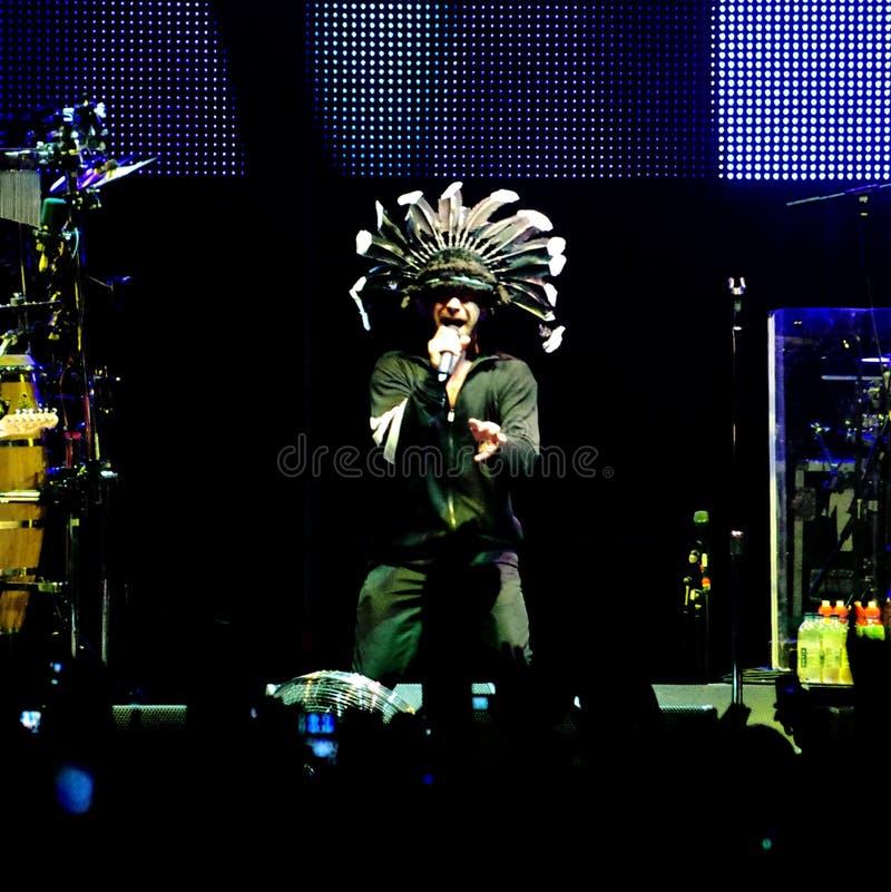 Download Jamiroquai live editorial stock photo. Image of famous - 34938433