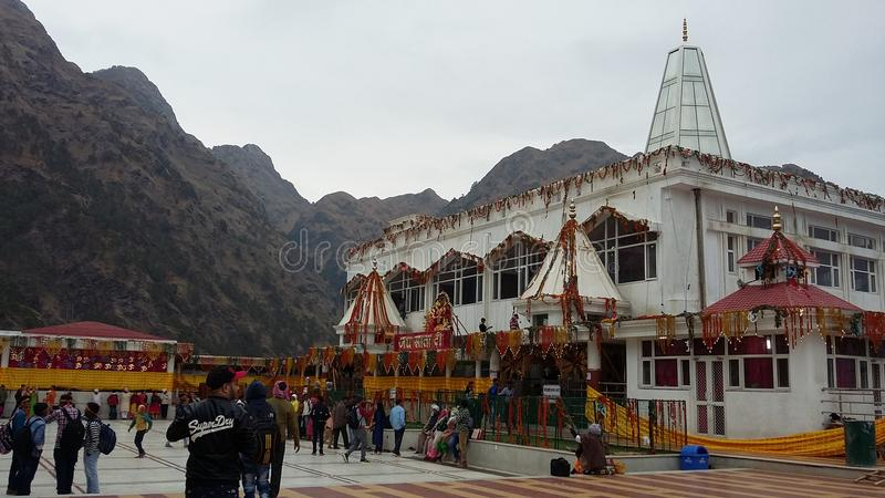 Jammu, Ardhkumari świątynia zdjęcia royalty free