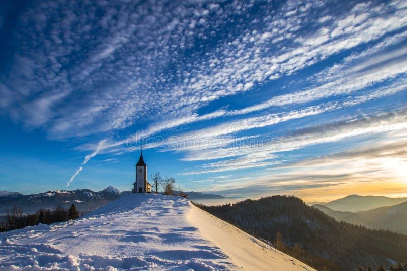 Jamnik à l'hiver photos libres de droits