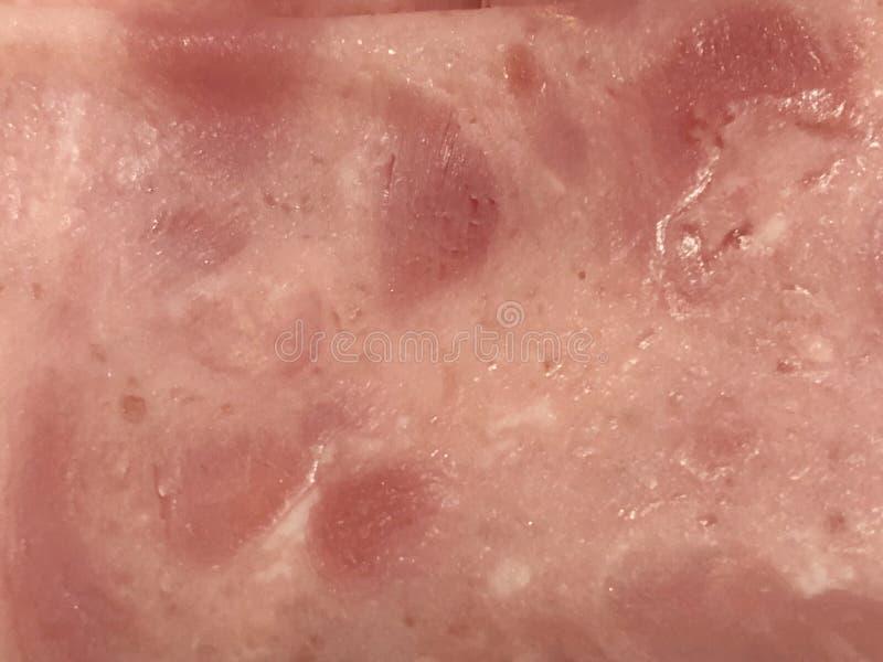 Jamon de Йорк текстуры стоковое фото