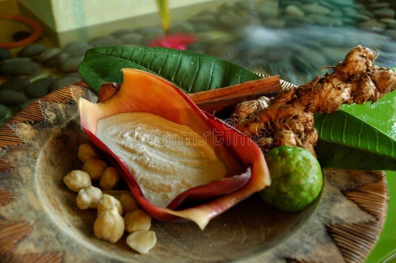 Jamu Indonesian Spa royalty-vrije stock foto