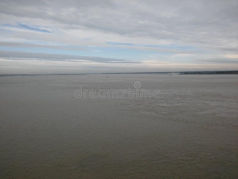 jamuna река самое большое в мире стоковое изображение