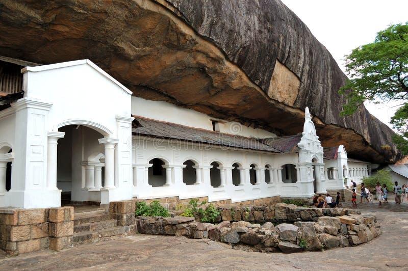jamy dambulla świątynia fotografia royalty free