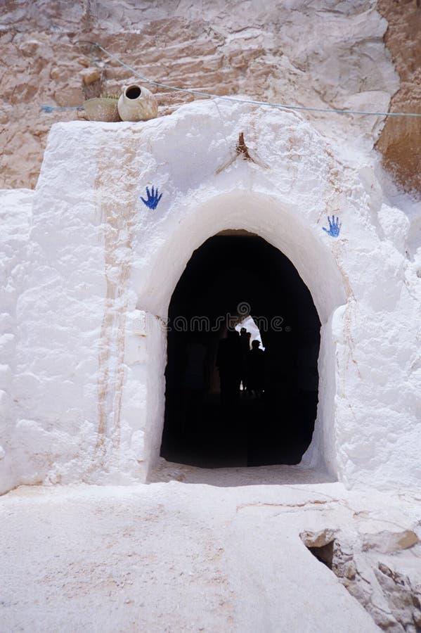 jamy matmata tuareg Tunisia fotografia stock