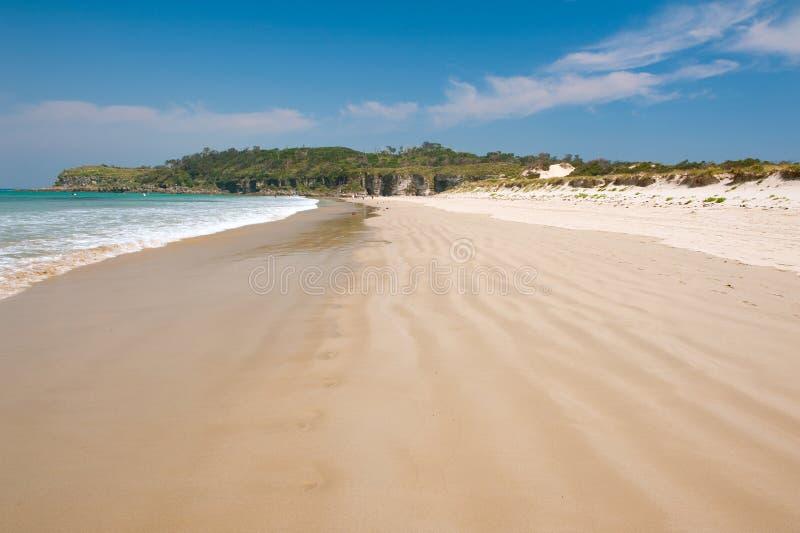Jamy plaża obraz stock
