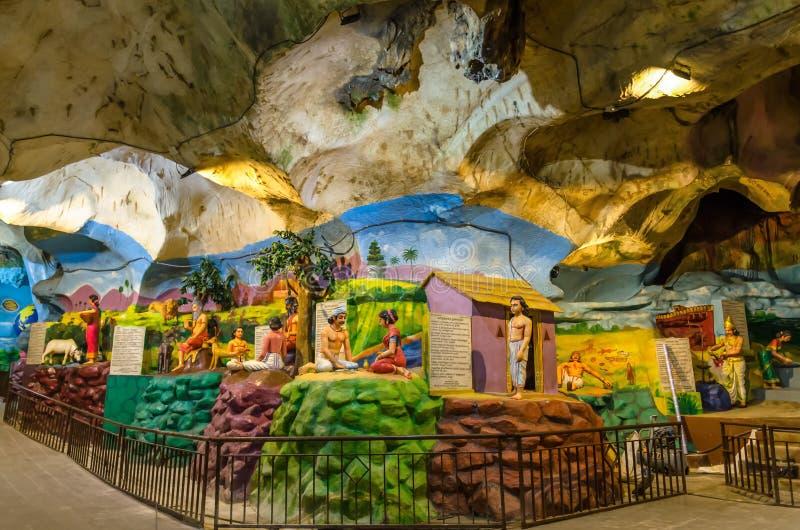 JAMY willa jest nowym turystyki przyciąganiem w Batu Zawala się obraz royalty free