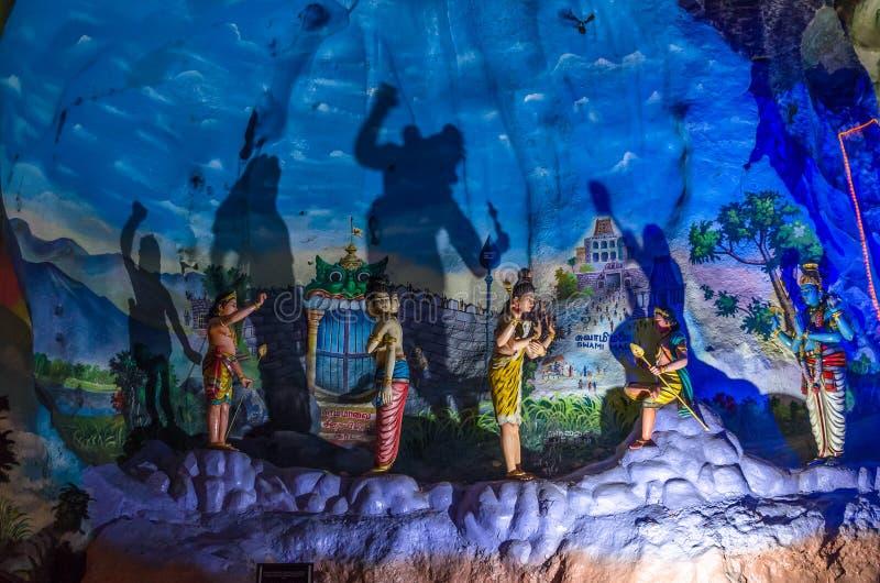 JAMY willa jest nowym turystyki przyciąganiem w Batu Zawala się zdjęcie stock
