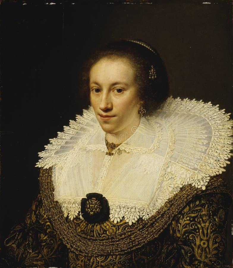 Jan Anthonisz van Ravesteyn (1570/72−1657): Maria Odilia Buys stock photo