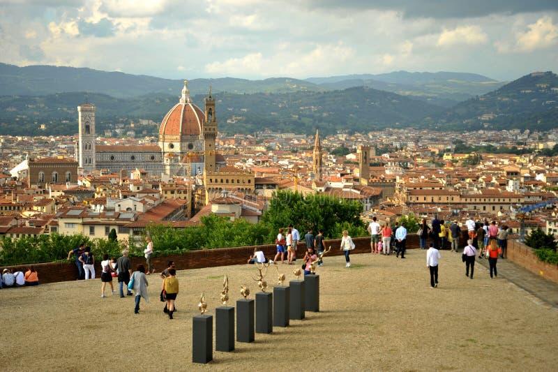 Jan Fabre samtida konstutställning i Florence, Italien royaltyfri foto