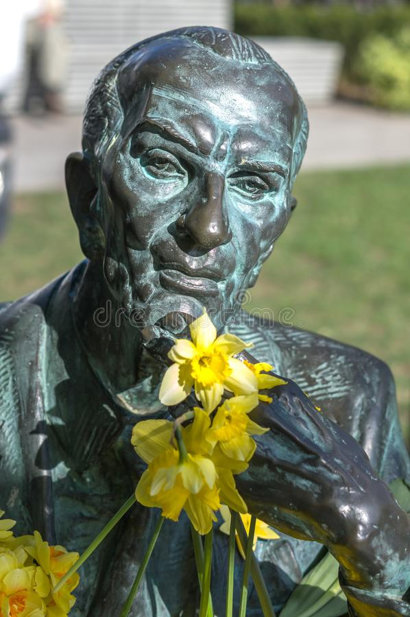 Jan Karski monument arkivfoton