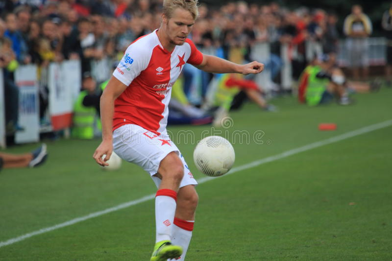Jan Mikula - Slavia Prague royalty free stock images