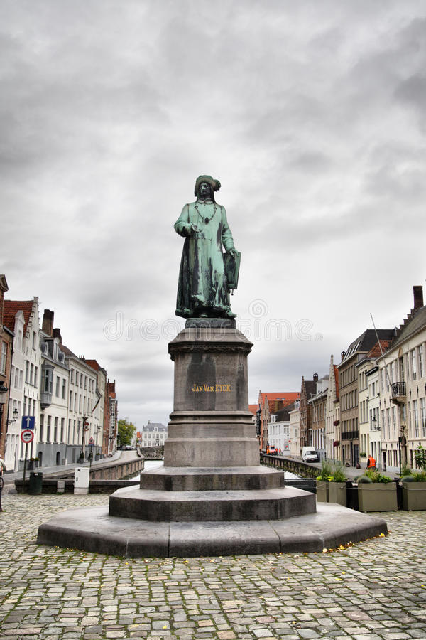 Download Jan Van Eyck stock image. Image of architecture, historic - 21299457