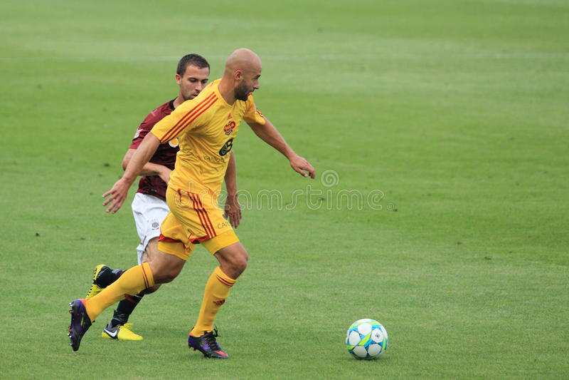 Download Jan Vorel - Dukla Prague editorial stock photo. Image of football - 25967948