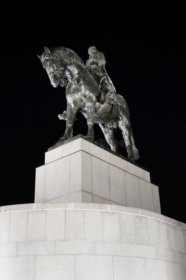 Jan Zizka Statue foto de stock royalty free