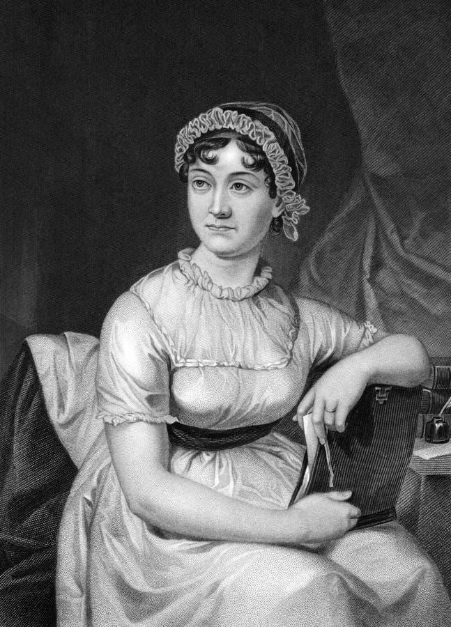 Jane Austen lizenzfreie stockbilder