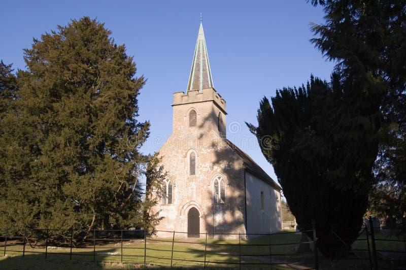 Jane Austen S Church, Steventon, Hampshire Royalty Free Stock Photos
