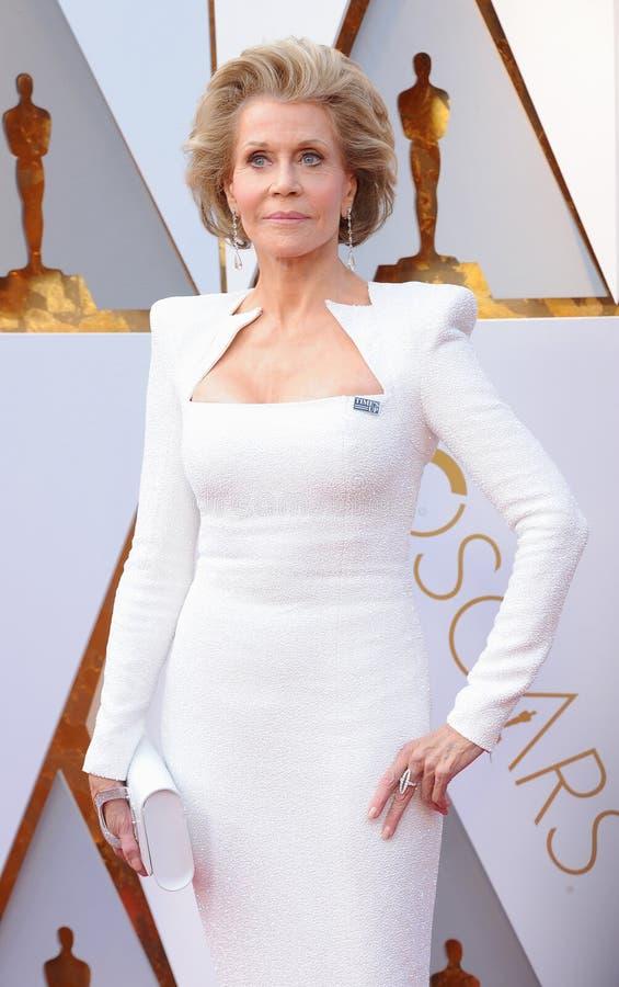 Jane Fonda royalty-vrije stock afbeeldingen