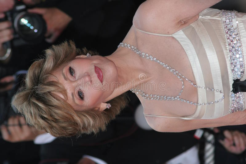 Jane Fonda imagenes de archivo