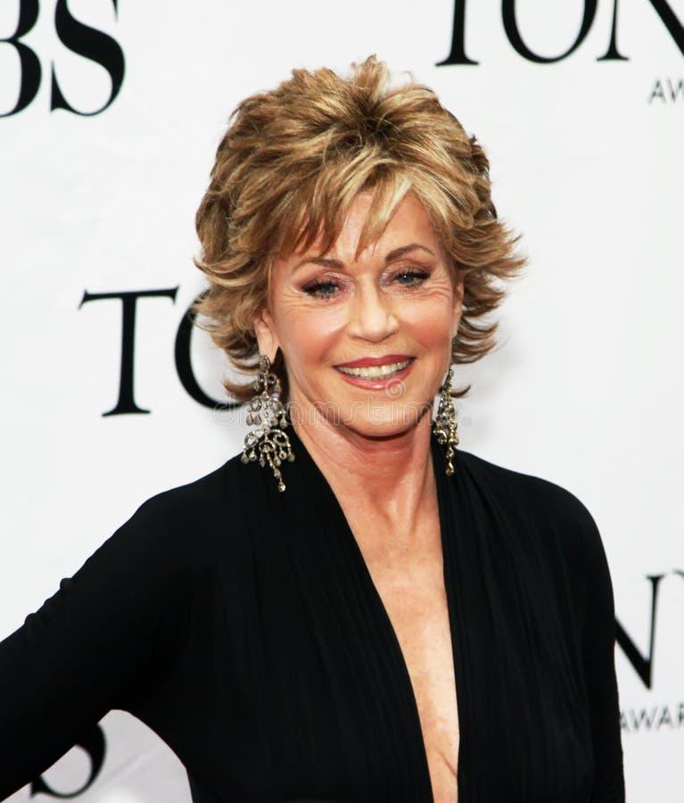 Jane Fonda fotografia de stock
