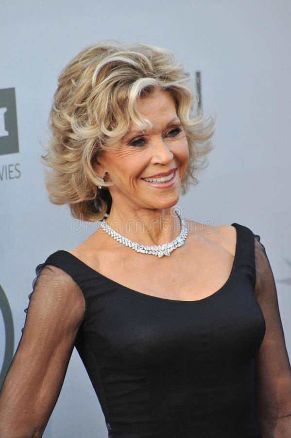 Download Jane Fonda foto editorial. Imagen de celebridad, longitud - 44857376