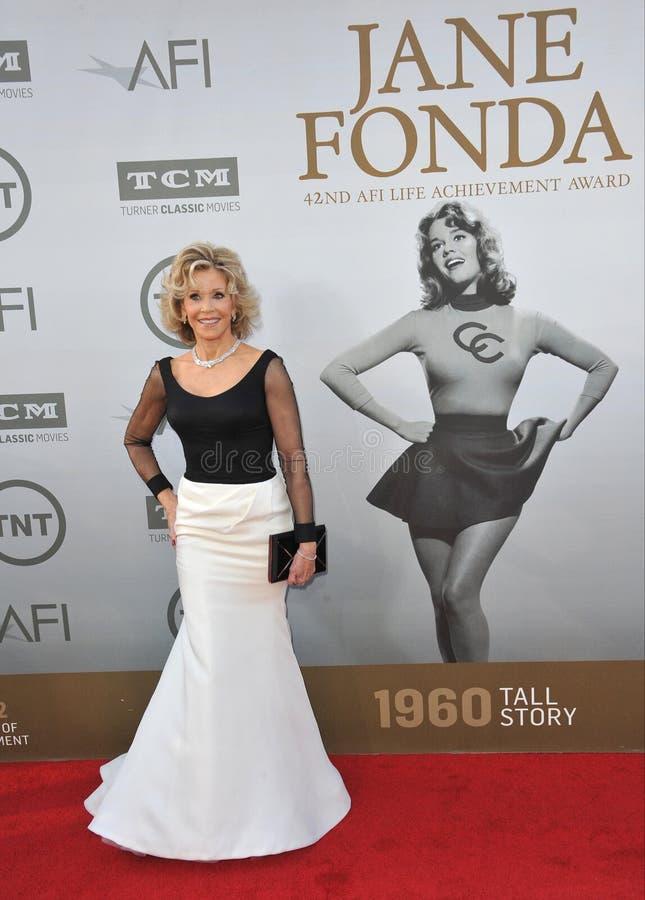 Download Jane Fonda foto de archivo editorial. Imagen de fundas - 44857443
