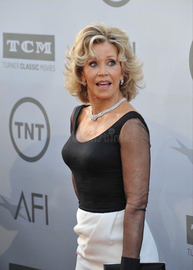 Download Jane Fonda foto de archivo editorial. Imagen de largo - 44857448