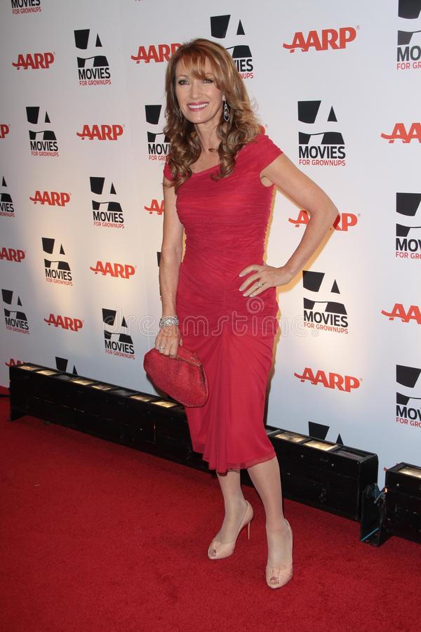 Jane Seymour foto de stock
