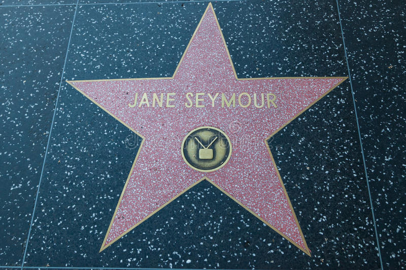 Jane Seymour Hollywood Star foto de stock royalty free