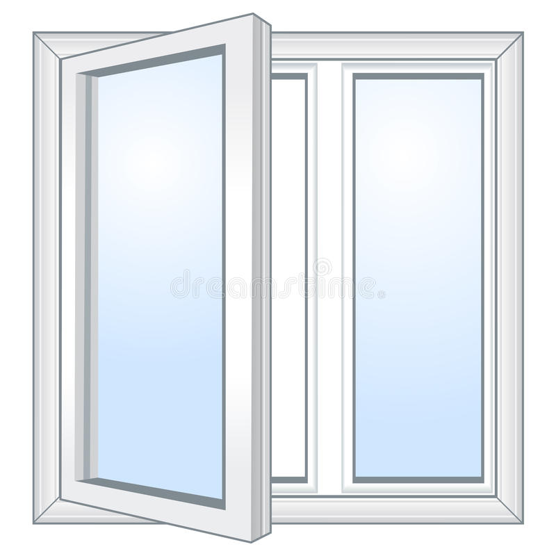 janela aberta do vetor imagens de stock imagem 29418104. Black Bedroom Furniture Sets. Home Design Ideas