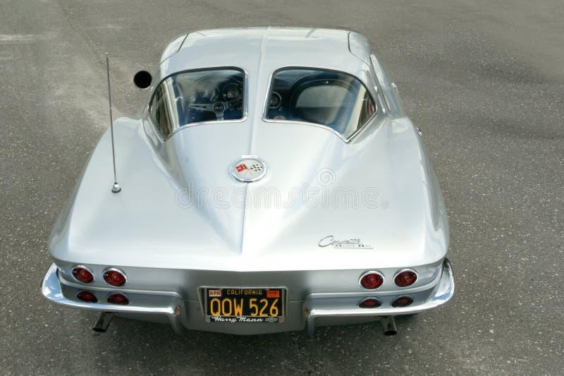 Janela 1963 da separação de Chevrolet Corvette Stingray imagem de stock