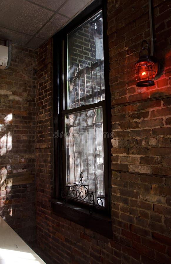 Janela de Brooklyn imagem de stock