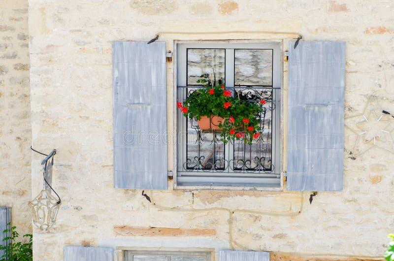 Janela de Provence fotos de stock