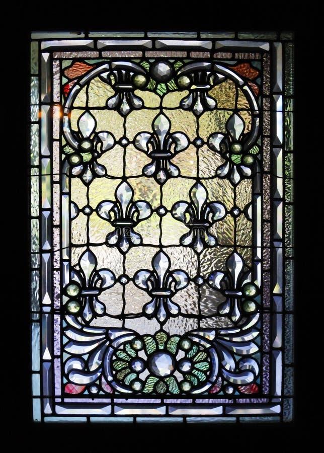 Janela de vidro colorido fotografia de stock royalty free