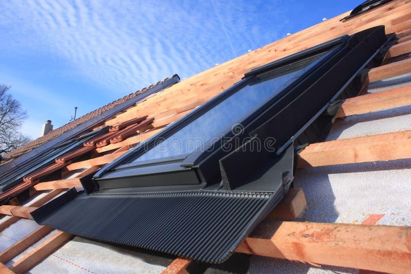Janela do telhado fotografia de stock royalty free