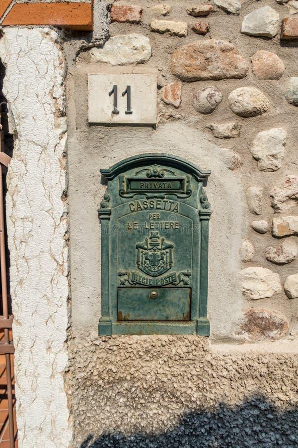 Janela Venetian, porta, arco, arquitetura de Itália imagem de stock royalty free