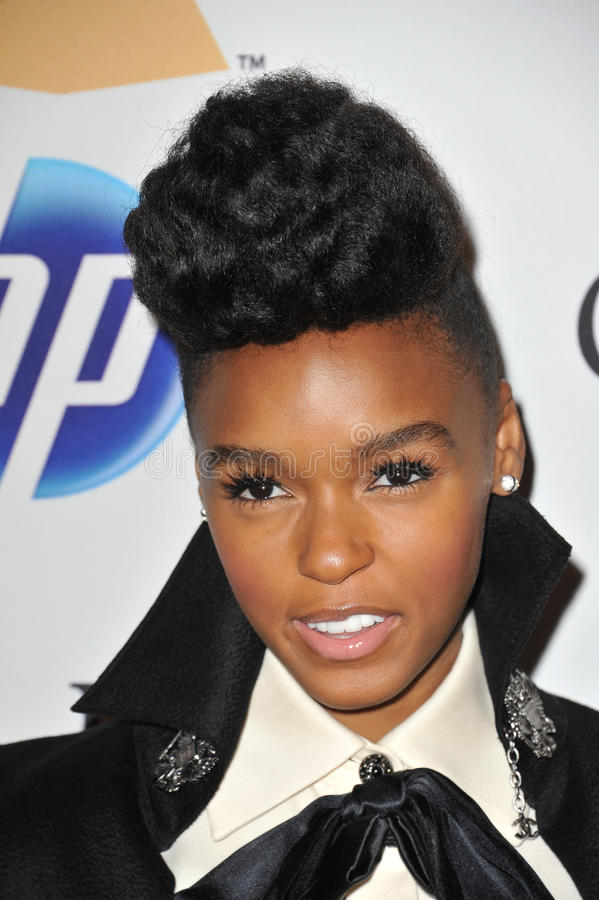 Download Janelle Monae editorial stock image. Image of hilton - 26491574