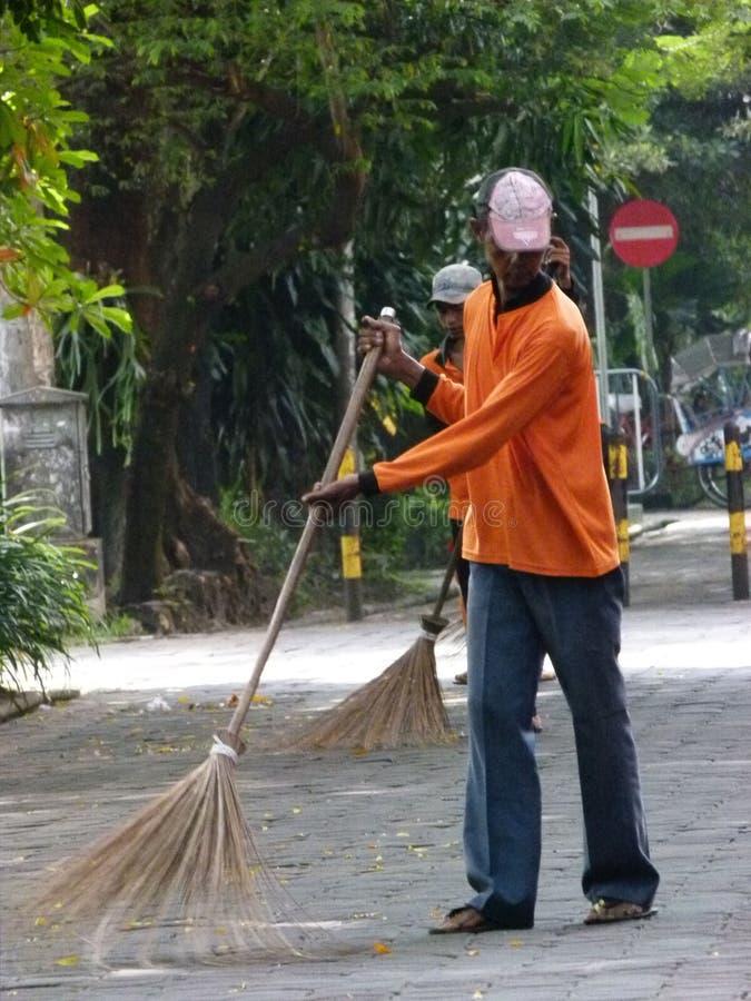 janitor immagine stock