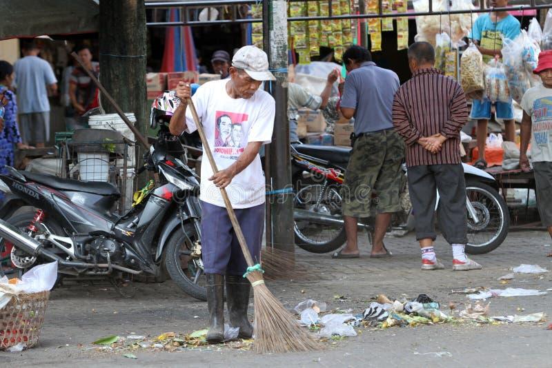 janitor fotografie stock
