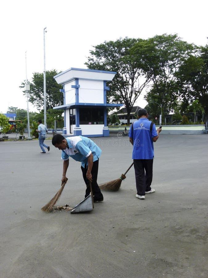 janitor immagini stock