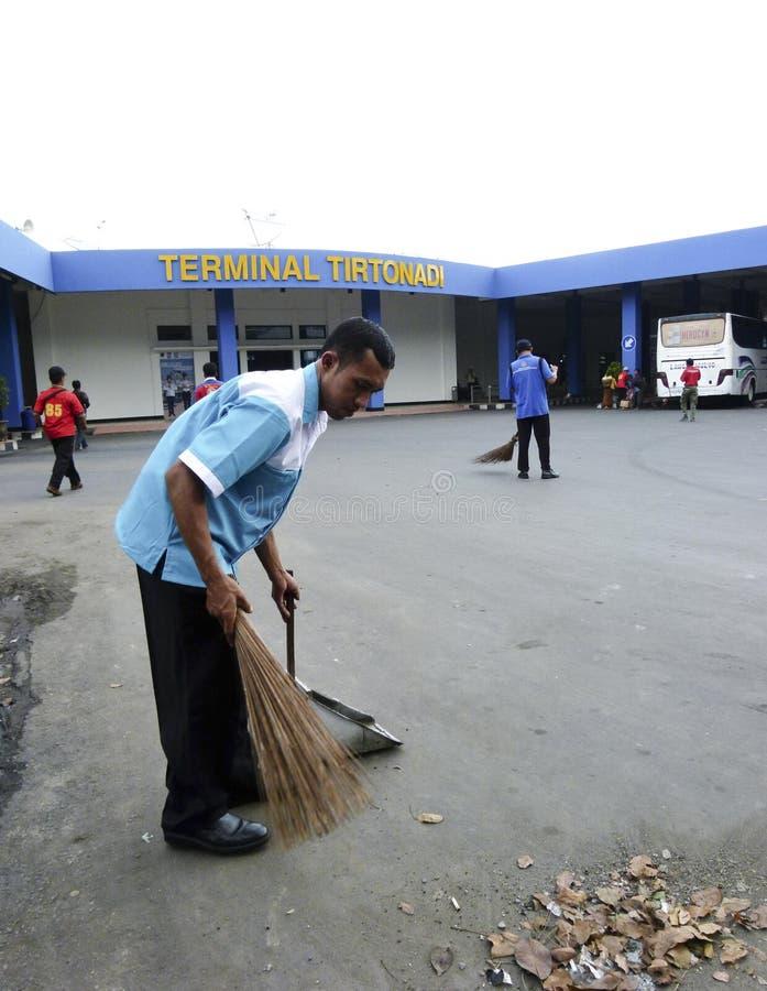 janitor fotografia stock libera da diritti