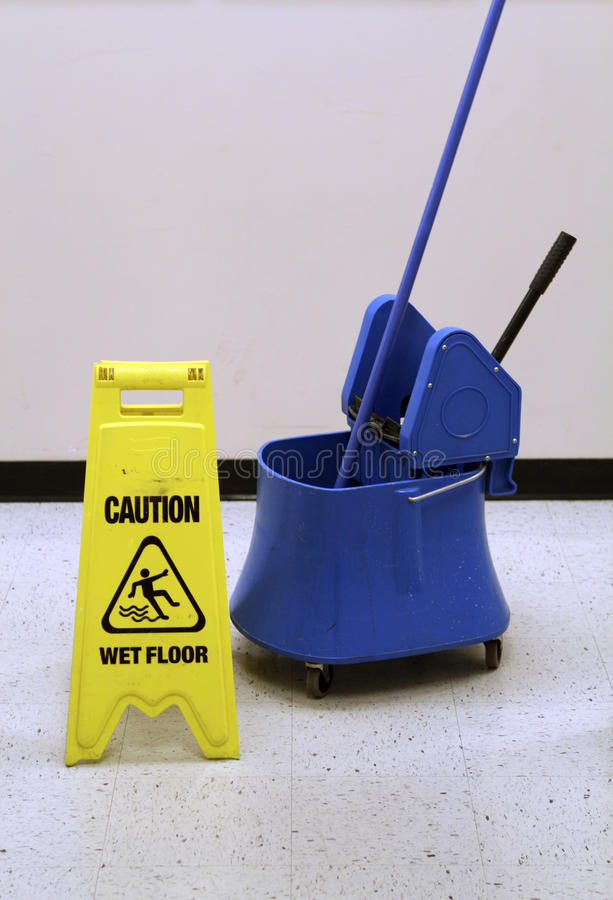 Janitorial stock photo