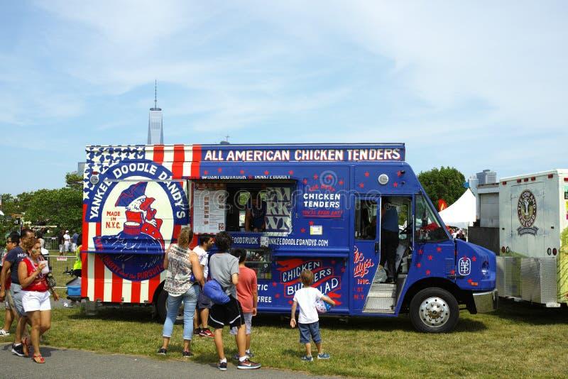 Jankeska Doodle dandy kurczaka ofert ciężarówka obrazy royalty free
