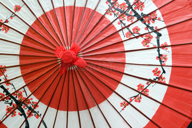 Janome. A traditional and decorative Japanese umbrella