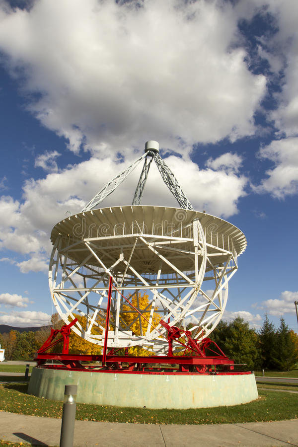 Jansky Antenna. At Green Bank Observatory, National Science Foundation facility, WV royalty free stock images