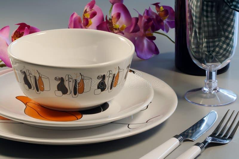 Download Jantar foto de stock. Imagem de vidro, vinho, placa, romântico - 531002