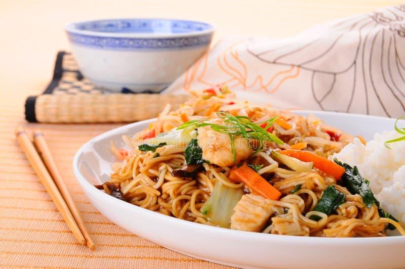 Jantar chinês imagem de stock