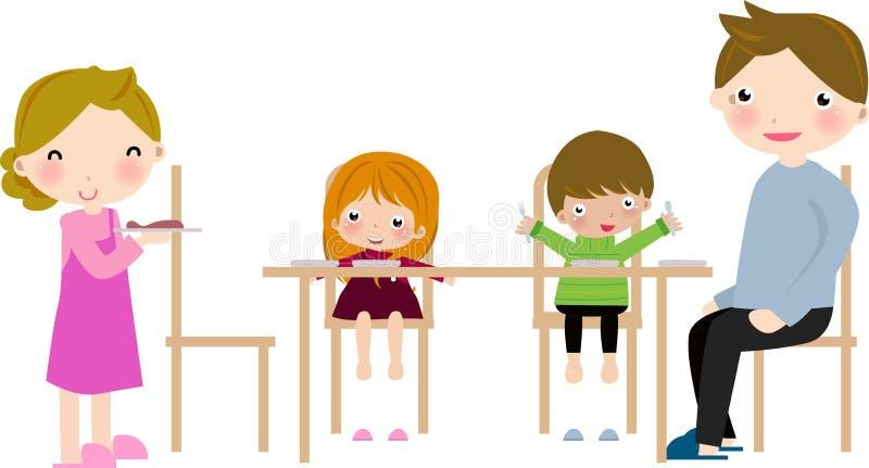 Jantar da família