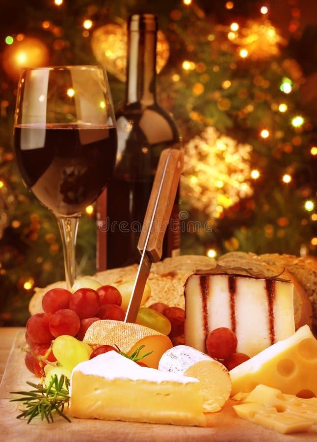 Jantar da Noite de Natal fotografia de stock royalty free